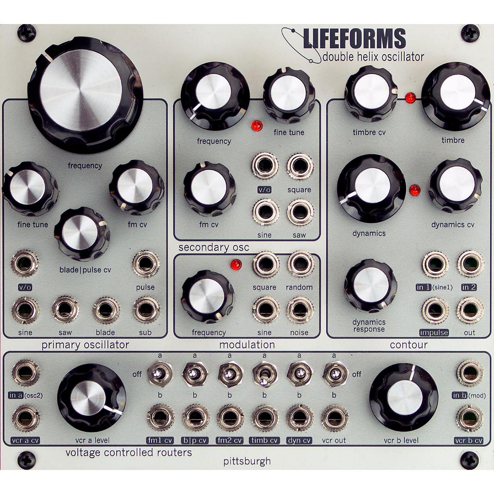 Pittsburgh Modular Synthesizers LIFEFORMS DOUBLE HELIX OSCILLATOR