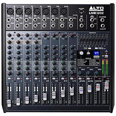 Alto LIVE 1202 12-Channel 2-Bus Mixer