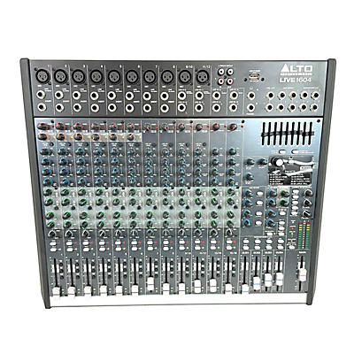 Alto LIVE 1604 16-Channel 4-Bus Unpowered Mixer