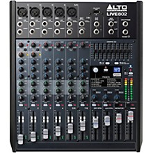 Open Box Alto LIVE 802 8-Channel 2-Bus Mixer