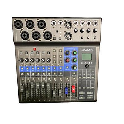 Zoom LIVETRAK L8 Digital Mixer