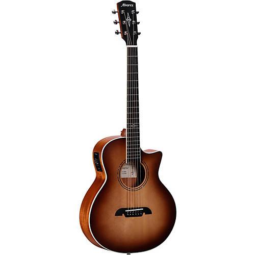 Alvarez LJ2CE Artist Little Jumbo Acoustic-Electric Guitar Natural Shadow Burst