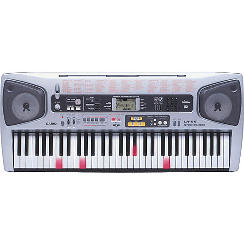 casio lk 55 61 key lighted key portable keyboard musician 39 s friend. Black Bedroom Furniture Sets. Home Design Ideas