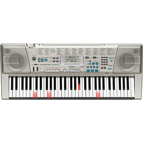 casio lk300tv lighted key keyboard musician s friend