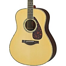 Yamaha LL16RD L Series Solid Rosewood/Spruce Dreadnought Acoustic-Electric Guitar
