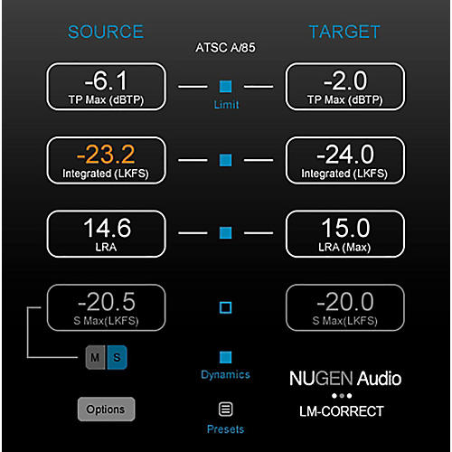 NuGen Audio LM-Correct 2 with DynApt Ext