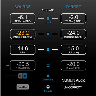 NuGen Audio LM-Correct DynApt Extension