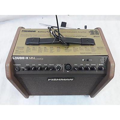 Fishman LOUDBOX MIN CHARGE Acoustic Guitar Combo Amp
