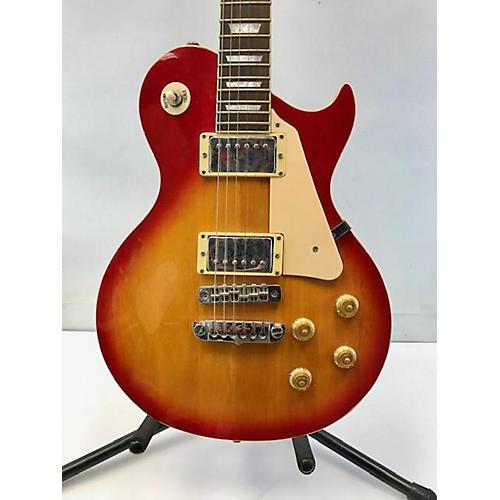 Aria LP Single Cut Solid Body Electric Guitar Cherry Sunburst