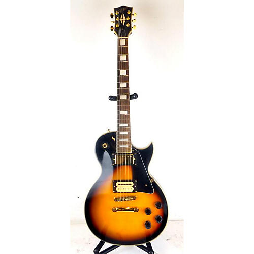 Elite LP Style Solid Body Electric Guitar Tobacco Sunburst