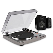 Audio-Technica LP2X Record Player and Kanto YU2 Powered Desktop Speakers