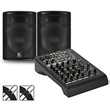 RCF LPAD-6X Mixer and Kustom HiPAC Speakers