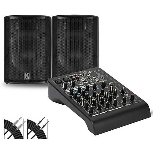 RCF LPAD-6X Mixer and Kustom HiPAC Speakers