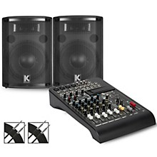LPAD-8X Mixer and Kustom HiPAC Speakers 10
