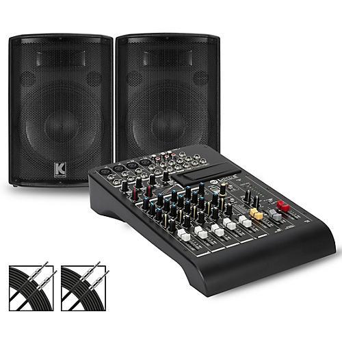 RCF LPAD-8X Mixer and Kustom HiPAC Speakers