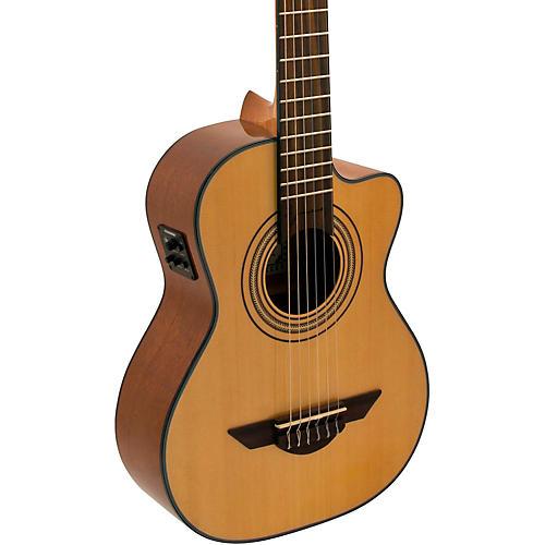 H. Jimenez LR2CE Voz de Trio Requinto Acoustic-Electric Guitar Satin Natural