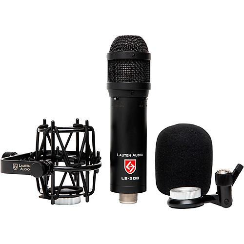 Lauten Audio LS-208 Front Address Large-diaphragm Condenser Microphone Black