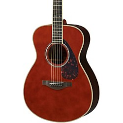 Yamaha LS16 Small Body Acoustic-Electric Guitar Dark Tinted Natural
