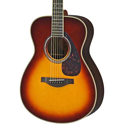 Yamaha LS16R L Series Solid Rosewood/Spruce Concert Acoustic-Electric Guitar