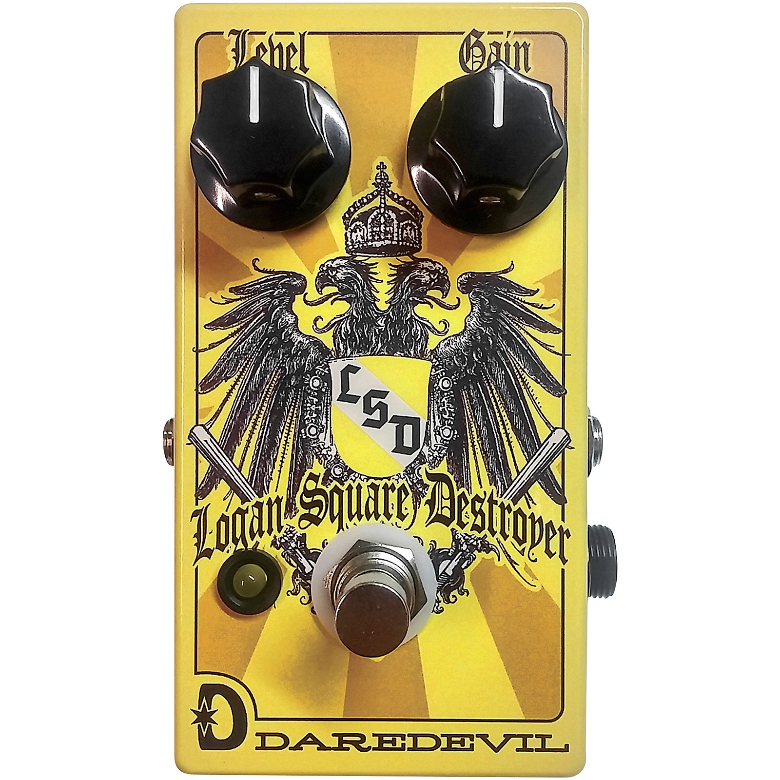 Daredevil Pedals LSD Logan Square Destroyer Fuzz V2 Effects Pedal