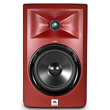 JBL LSR305 5 in. Limited Edition Powered Studio Monitor - Matte Red