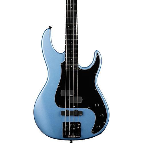 ESP LTD AP-4 Electric Bass Pelham Blue Black Pickguard