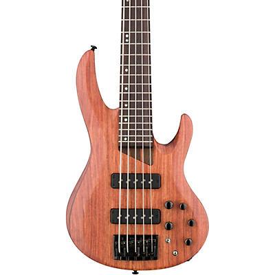 ESP LTD B-1005SE Bubinga 5-String Electric Bass