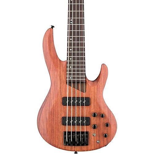 ESP LTD B-1005SE Bubinga 5-String Electric Bass Condition 2 - Blemished Satin Natural 190839835451