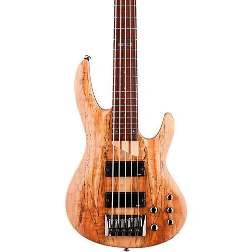 open box esp ltd b 205sm 5 string electric bass guitar satin natural musician 39 s friend. Black Bedroom Furniture Sets. Home Design Ideas