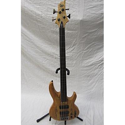 ESP LTD B204 Fretless Electric Bass Guitar