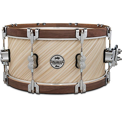 PDP by DW LTD Concept Maple Snare Drum With Walnut Hoops