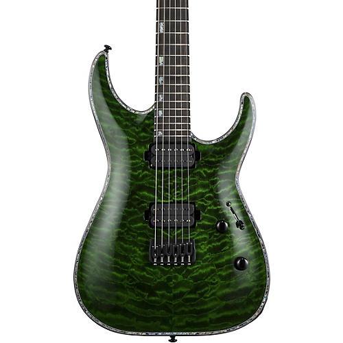 ESP LTD H-1001 Electric Guitar Transparent Green