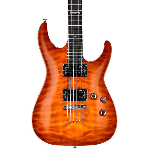 ESP LTD LMH100QMNT Quilt Maple Top Electric Guitar