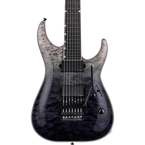 ESP LTD MH-1007QM Electric Guitar Black Fade