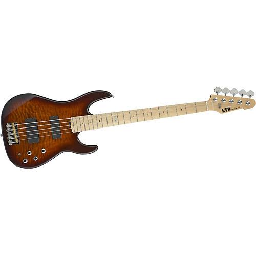 ESP LTD SURVEYOR-415 Quilted Maple 5-String Electric Bass Guitar