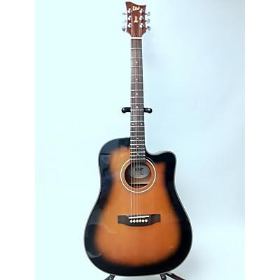 ESP LTD XDC5E Acoustic Electric Guitar