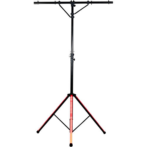 American DJ LTS Color Tripod Stand with LED Lights Black