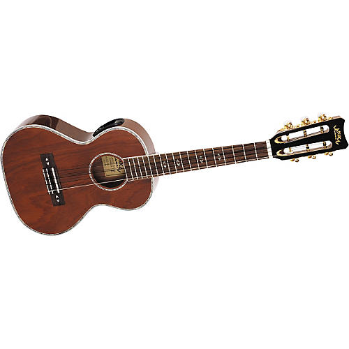 Lanikai LU-6E 6-String Acoustic-Electric Tenor Ukulele