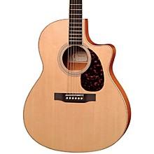 Open BoxLarrivee LV-03E Mahogany Standard Series Cutaway Acoustic-Electric Guitar