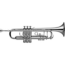 Levante LV-TR4201 Bb Intermediate Trumpet - Silver Plated