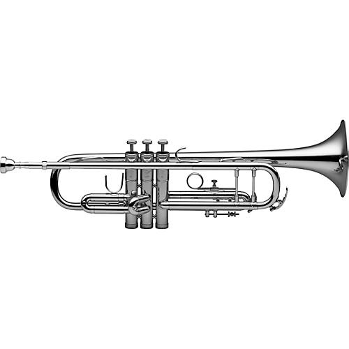 Levante LV-TR4201 Bb Intermediate Trumpet - Silver Plated Silver plated