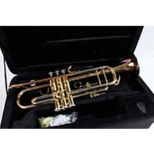 Open BoxLevante LV-TR6305 Bb Professional Trumpet with Monel Valves - Gold Brass