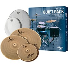 Zildjian LV468 Low Volume Cymbal Set with Remo Silent Stroke Heads
