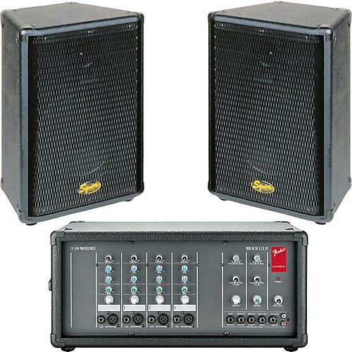 Fender LX-1504 & SQ-10 PA Package