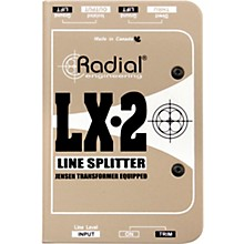 Open Box Radial Engineering LX-2 Line-Level Splitter and Attenuator