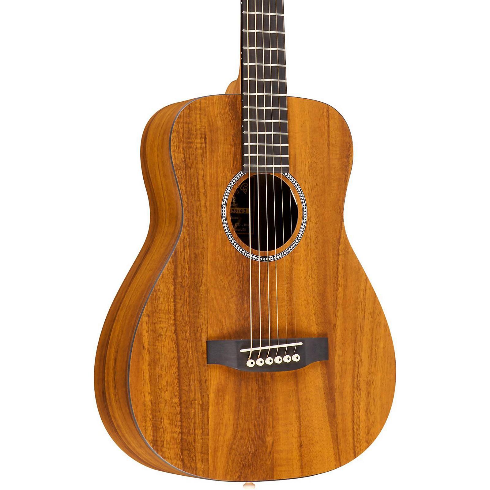 Martin LX Koa Little Martin Acoustic Guitar