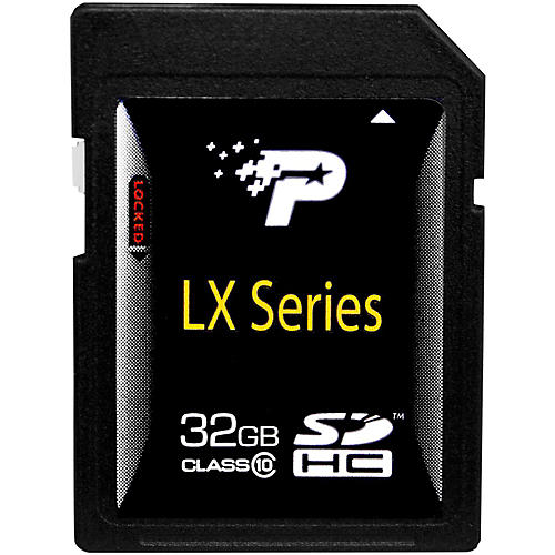Patriot LX Series 32GB Class 10 SDHC Flash Card