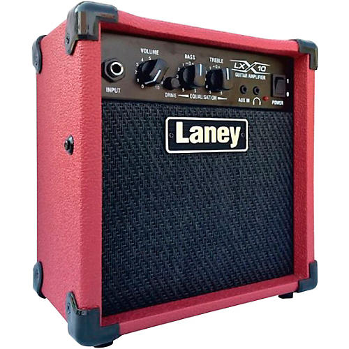 Laney LX10 RD 10W 1x5 Guitar Combo Amp Red