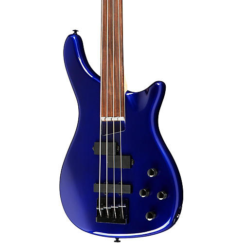 Rogue LX200BF Fretless Series III Electric Bass Guitar Condition 2 - Blemished Metallic Blue 194744351969