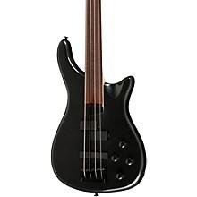 LX200BF Fretless Series III Electric Bass Guitar Pearl Black